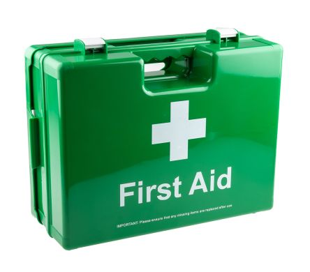 Carrying Case, Wall Mounted First Aid Kit for 20 people, 460 mm x 340mm x 180 mm product photo