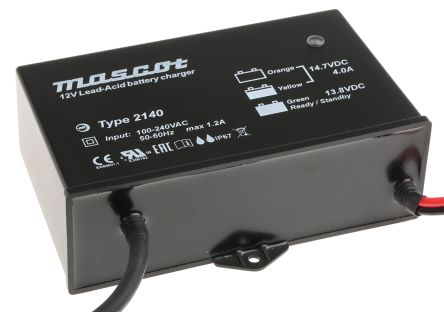 Mascot Lead Acid 12V 4A Battery Charger with