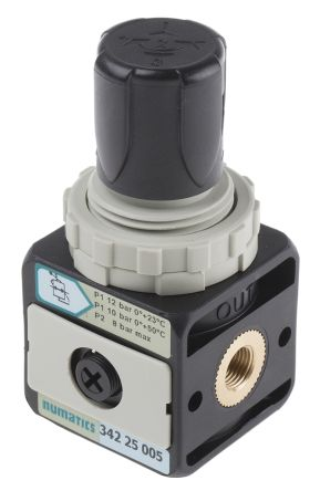 Asco G 1/8 550L/min Pneumatic Regulator, 0.5 → 8bar