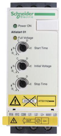Schneider Electric 12 A Soft Starter ATS01 Series, IP20, 5 5 kW, 380 → 415 V