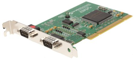 Brainboxes 2 Port PCI RS232, RS422, RS485 Board