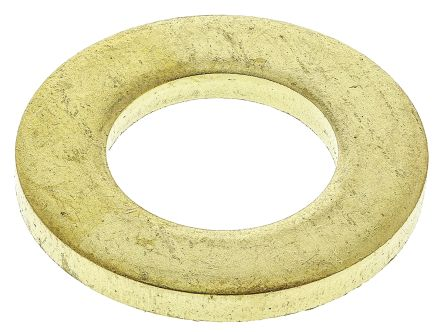 Brass Plain Washer, 2.5mm Thickness, M12 product photo