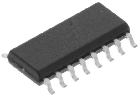 Nexperia 74HC40103D,652 8-stage Binary Counter, Down Counter, , Uni-Directional, 16-Pin SOIC