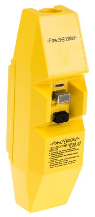 Inline Mains RCD Connector Adapter 2 Pole ,Rated At 16A,110 V ac product photo
