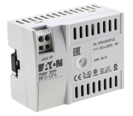 mfd cp4 800 eaton eaton plc power supply easy 800 series easy 800mfd cp4 800 eaton eaton plc power supply easy 800 series easy 800 series, 24 v dc 1 5w 107 5 x 29 5 x 90 mm 488 9560 rs components