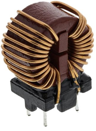 Wurth 1 mH ±30% Leaded Inductor, 3A Idc, 35mΩ Rdc WE-CMB