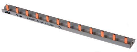 ABB 1 Phase Busbar, 12 Module, 400V ac, 17.5mm Pitch