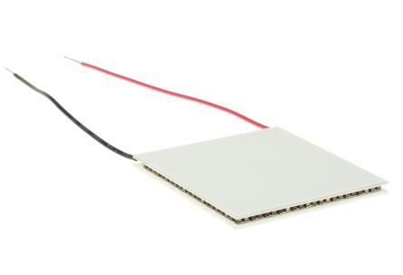 Adaptive 珀耳帖模块 ET-241-14-15-RS, 112.7W制冷能力, +74K最大温差, 6A, 29.8V, 55 x 55mm