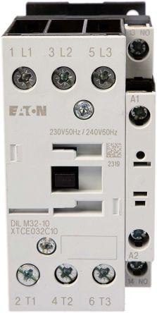 Eaton 3 Pole Contactor, 32 A, 230 V ac Coil, xStart, 3NO, 15 kW
