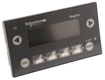 Schneider Electric Backlit LCD HMI Panel, 2 port, 24 V dc Supply