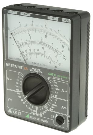 METRAHit 2A Analogue Multimeter 15A 500V product photo