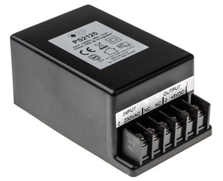 Embedded Linear Power Supply Encapsulated, 207 → 253V ac Input, 5V dc  Output, 1A, 5W