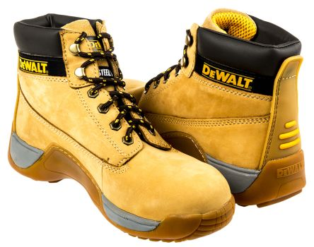 2088875cce2 Dewalt Apprentice Steel Toe Safety Boots, UK 8, EUR 42, Resistant To  Chemical, Heat, Oil, Petrol, US 9 Anti-Slip No