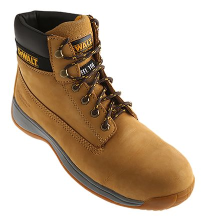 d92a3cf8c2c DeWALT Apprentice Honey Steel Toe Men Safety Boots, UK 10, US 11