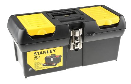 Stanley Polypropylene Tool Box dimensions 403 x 178 x 130mm