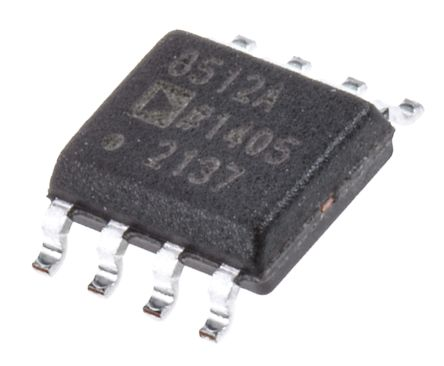 Analog Devices AD8512ARZ, Op Amp, 8MHz, 8-Pin SOIC