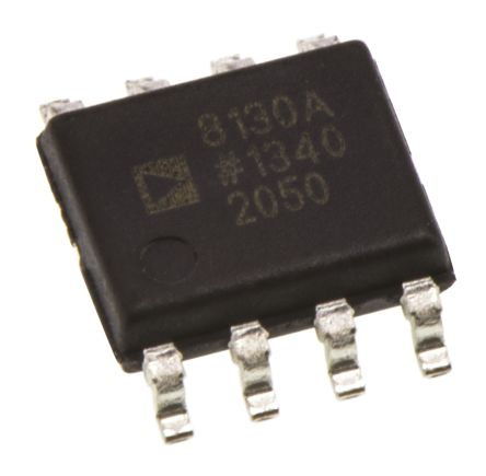 Analog Devices AD8130ARZ, Differential Line Receiver 5 V, 9 V, 12 V, 15 V, 18 V, 24 V 8-Pin SOIC