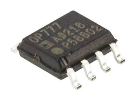 Analog Devices OP777ARZ Op Amp, RRO, 700kHz, 3 → 28 V, 8-Pin SOIC