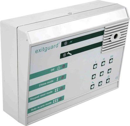 Exitguard door monitor alarm system,batt