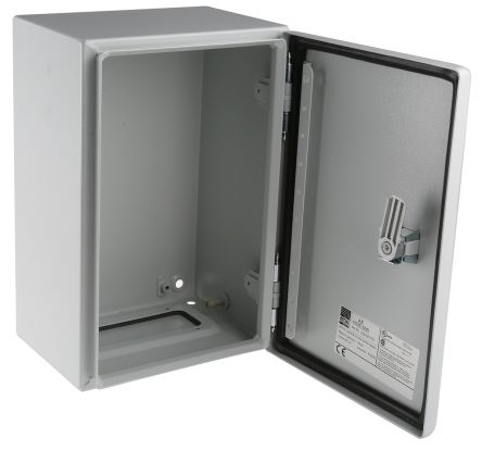 AE1035500 | Rittal AE Stahl Wand-Schaltschrank, grau IP66, 300 x ...