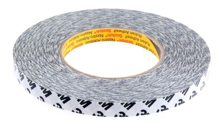 ™ 9086 Translucent Double Sided Paper Tape, 12mm x 50m, 0.19mm Thick product photo
