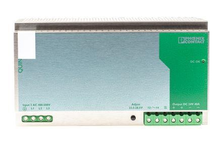 Phoenix Contact QUINT-PS-3X400-500AC//24DC//40 Power Supply
