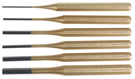 6 piece Punch Set Parallel Pin, 150 mm product photo