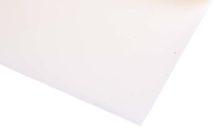 White Silicone Rubber Sheet, 1.2m x 600mm x 1.5mm
