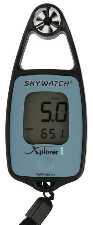 Instruments Direct XPLORER 1 Rotary Vane 42m/s Max Air Velocity Air Velocity Anemometer