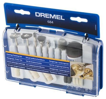 Dremel Cleaning and Polishing Set, 20 piece for use with Cleaning and Polishing Tools