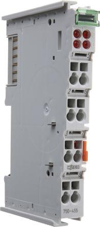 Wago I/O SYSTEM 750 PLC I/O Module 4 (Channel) Inputs, , 100 x 12 x 64 mm