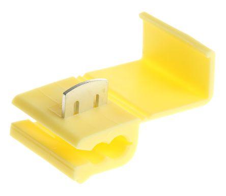 RS Pro Kabelspleißverbinder Abzweigverbinder, gelb isoliert, Ø 20.5 ...
