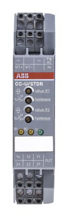 ABB Analogue to Relay Signal Conditioner, 0 → 10 V, 0 → 20 mA Input