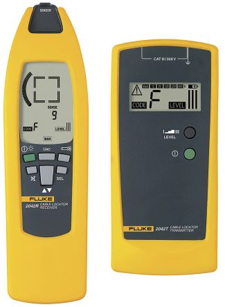 Fluke 2042 Cable Tracer, Cable Detection Depth 2.5m CAT III 300 V, Maximum Safe Working Voltage 400V