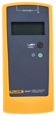 Fluke 2042T Cable Tracer Transmitter CAT III 300 V, Maximum Safe Working Voltage 400V