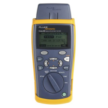 Fluke Networks CableIQ CableIQ LAN Test Equipment of Ethernet Port Test, Length, PoE Dectection, Remote ID Locator