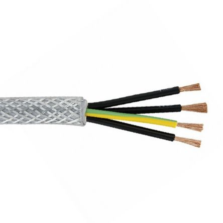 Belden Belden SY 4 Core SY Control Cable 4 mm², 50m, Screened