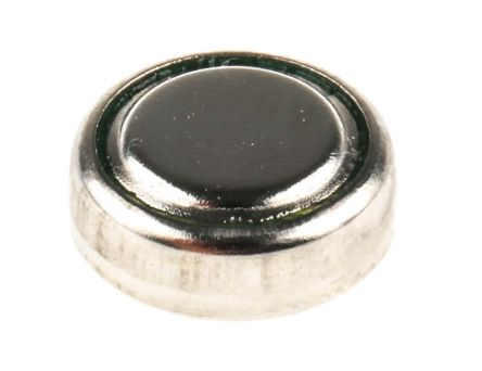 RS Button Battery, SR43, 1.55V, 11.6mm Diameter product photo