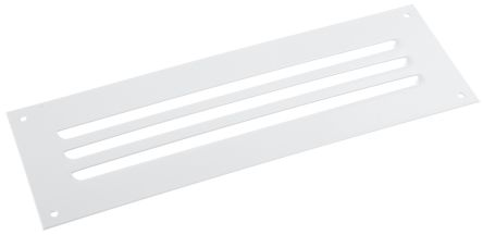 Grey Steel Vent Grille, 110 x 330mm product photo