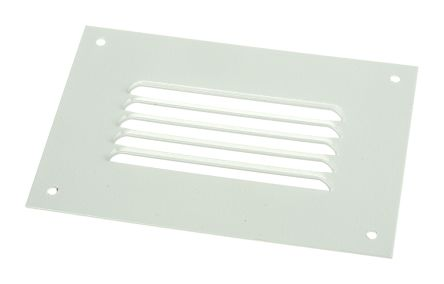 Grey Steel Vent Grille, 110 x 160mm