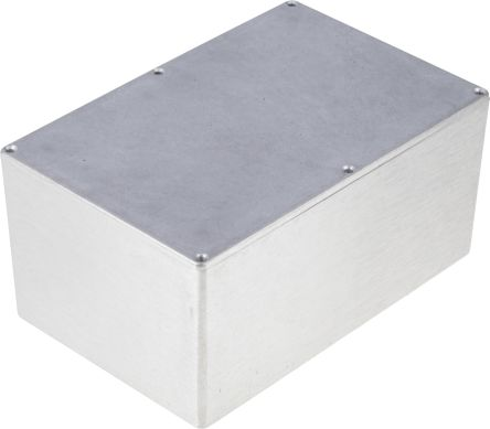 RS PRO Aluminium Enclosure, Shielded, 222 2 x 146 x 106 5mm