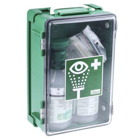 Wall Mounted Eye Wash Kit, 2 x 500 ml product photo