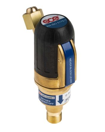 Flash Back Arrestor for use with Oxygen Gas