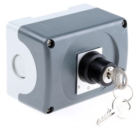 3 Position Key Switch Station - 2N/O