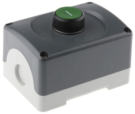 ABB Enclosed Push Button, IP66 74mm 75mm 101mm