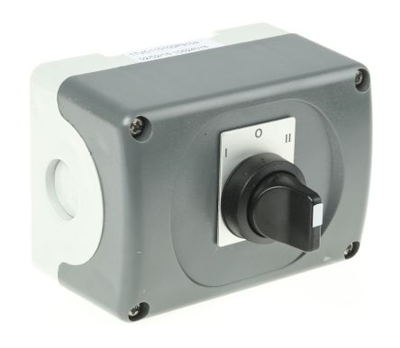 3 positions Rotary Switch, 690 V, Push Button