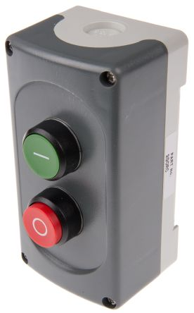 ABB Enclosed Push Button, IP66 79mm 75mm 141mm