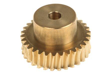 ingranaggio Frontale ingranaggio 25 Denti Modulo 0,6 in acciaio