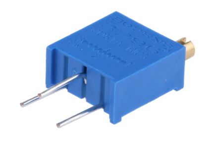 100kΩ Through Hole Trimmer Potentiometer 0 5W Top Adjust Bourns 3296 Series