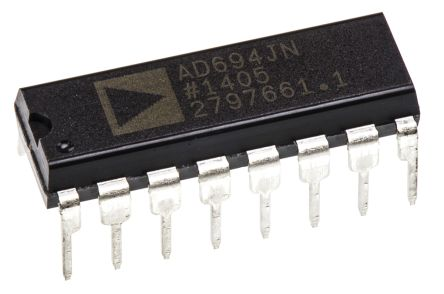 Analog Devices AD694JNZ 0 → 20 mA, 4 → 20 mA Current Loop Transmitter 300kHz 16-Pin PDIP